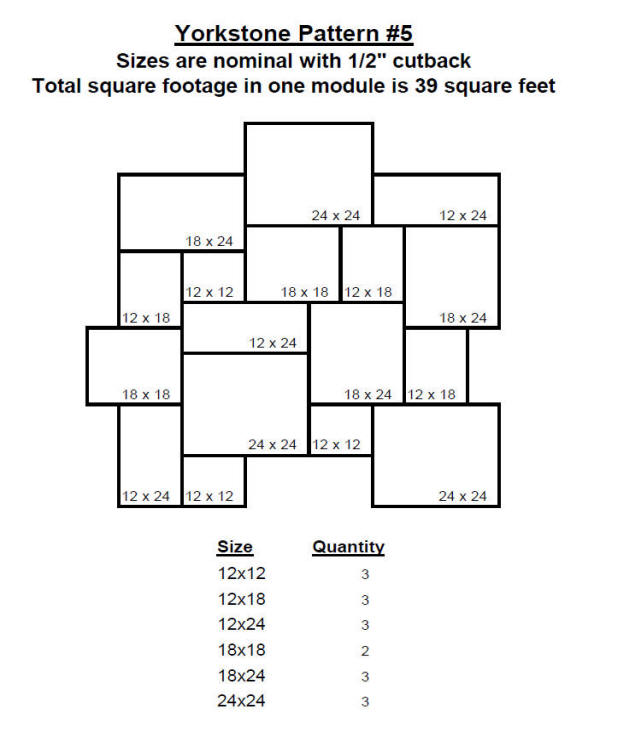 Yorkstone Pattern 5