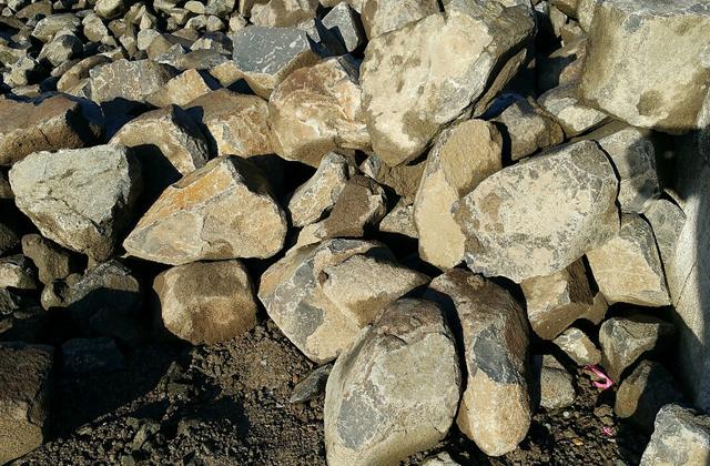 Basalt Rock Gardening : Columbia basalt marenakos rock center