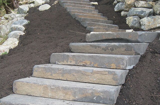 Cambrian Black Basalt Steps