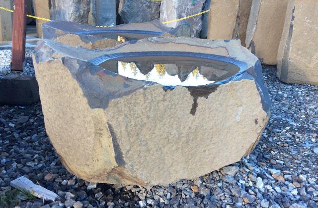 Columbia Basalt Dish Rocks