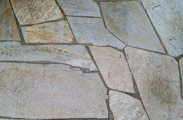 Gold Rush Quartzite flagstone