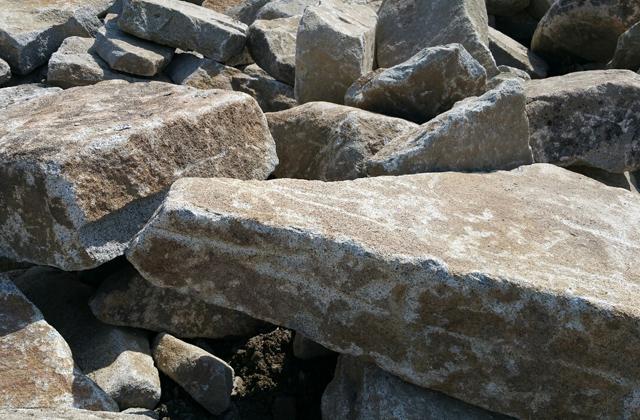 Granite Natural Riser Steps
