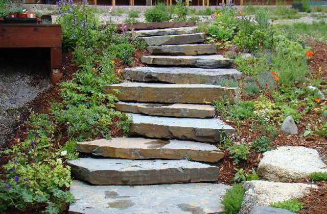 Montana Slate Natural Steps