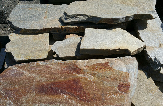 Quartzite Stepping Stone