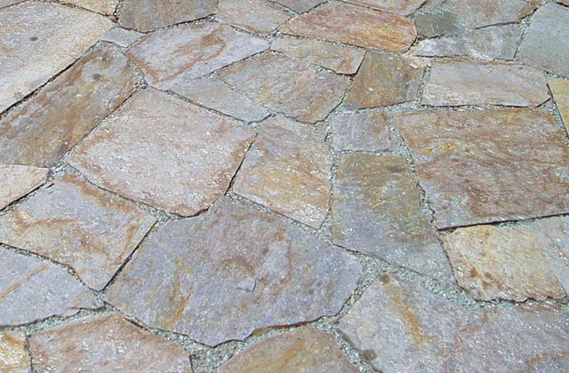 Quartzite Stepping Stone